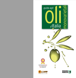 2018 catalogue of mono-variety olive oils from the 15^ National Review of mono-variety olive oils