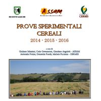 Cereals experimental trials 2014-2016